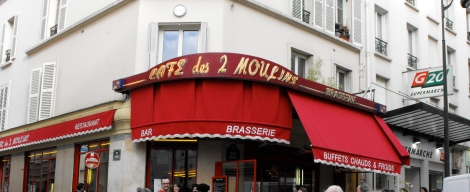 Cafe des Deux Moulins exterior FEATURED