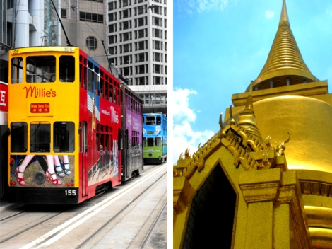 From trams to temples. And transexuals...