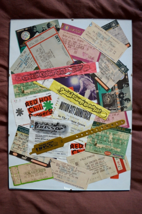 Various gig tickets, NASS Festivals and Goldcoast Oceanfest bands - 2003 - 2007