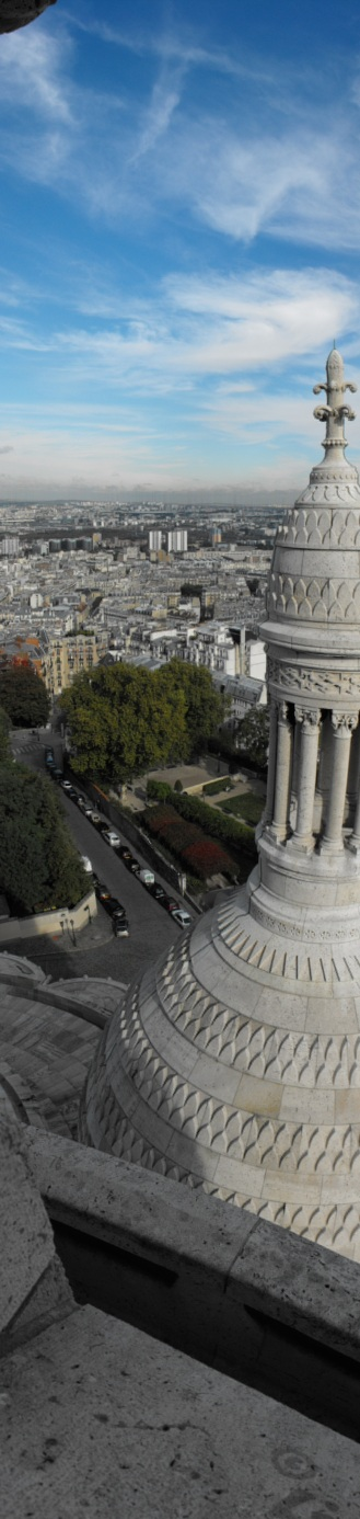 Panoramic Paris - A different take