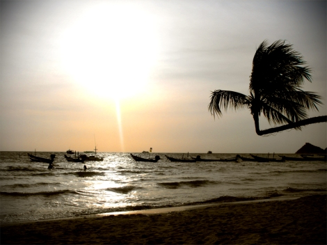 Sairee Beach, Ko Tao, Thailand