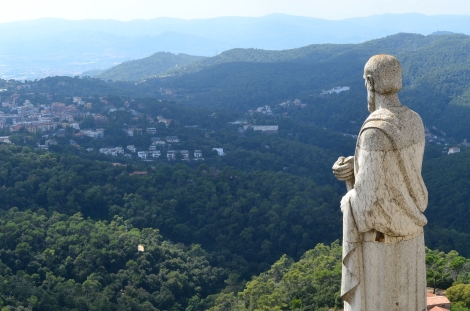 The Collserola region's watchful guardian.