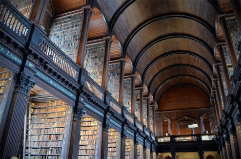 Here's another teaser for you - Dublin Trinity College library