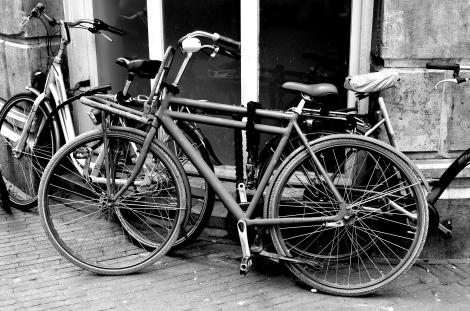 Many a bike, Amsterdam
