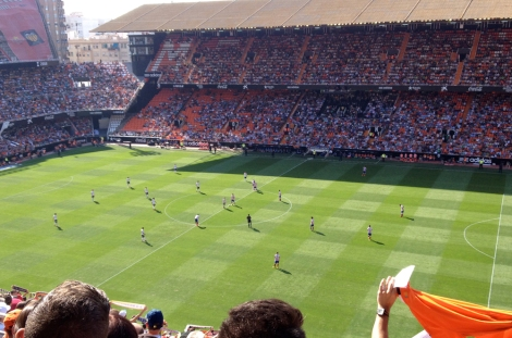 ...to watch VCF beat Atlético Madrid 3-1! Amunt!